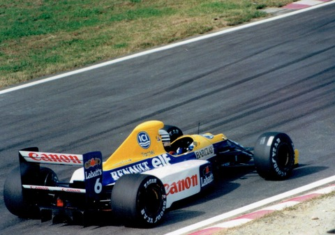 SUZUKA 1990 Patrese / Williams Renault