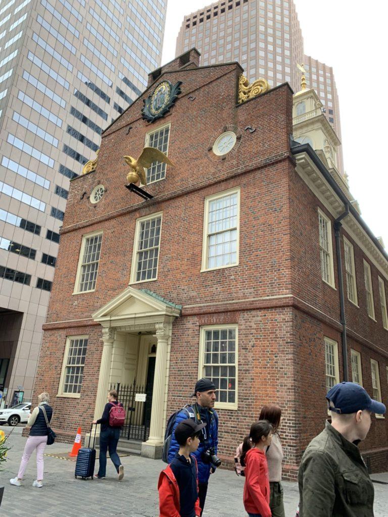 フリーダムトレイル 旧マサチューセッツ州会議事堂