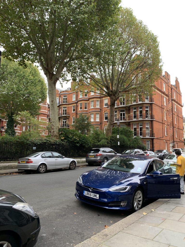 ロンドン ホテル近く