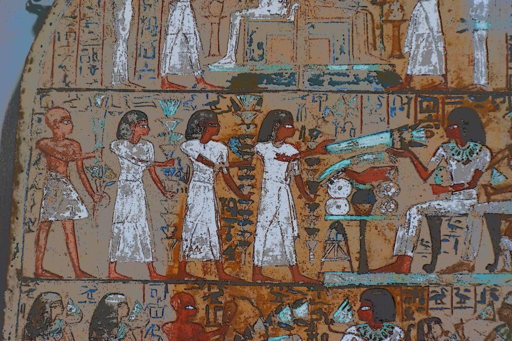 古代エジプト壁画