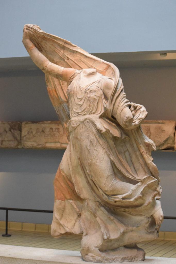大英博物館 パルテノン神殿の彫刻