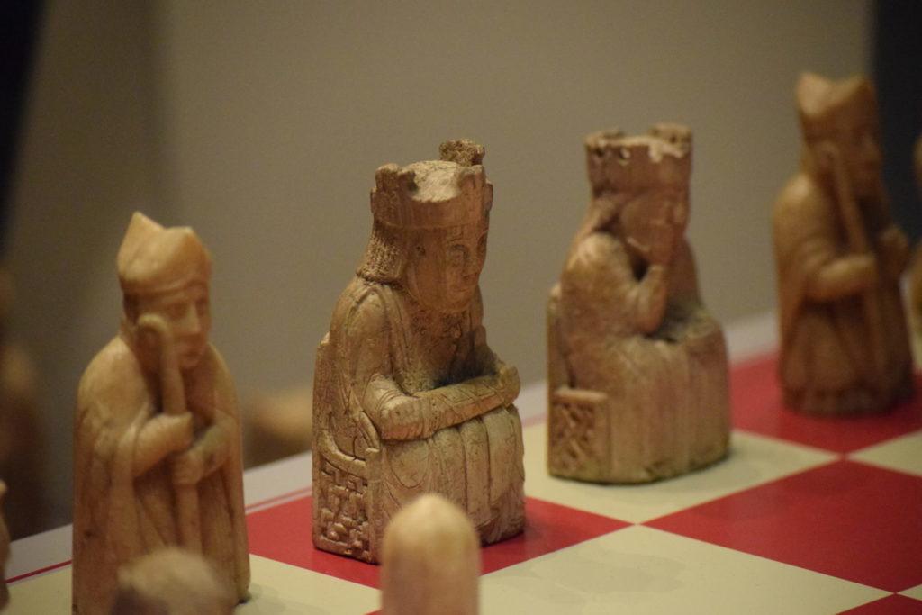 大英博物館 ルイス島のチェス駒