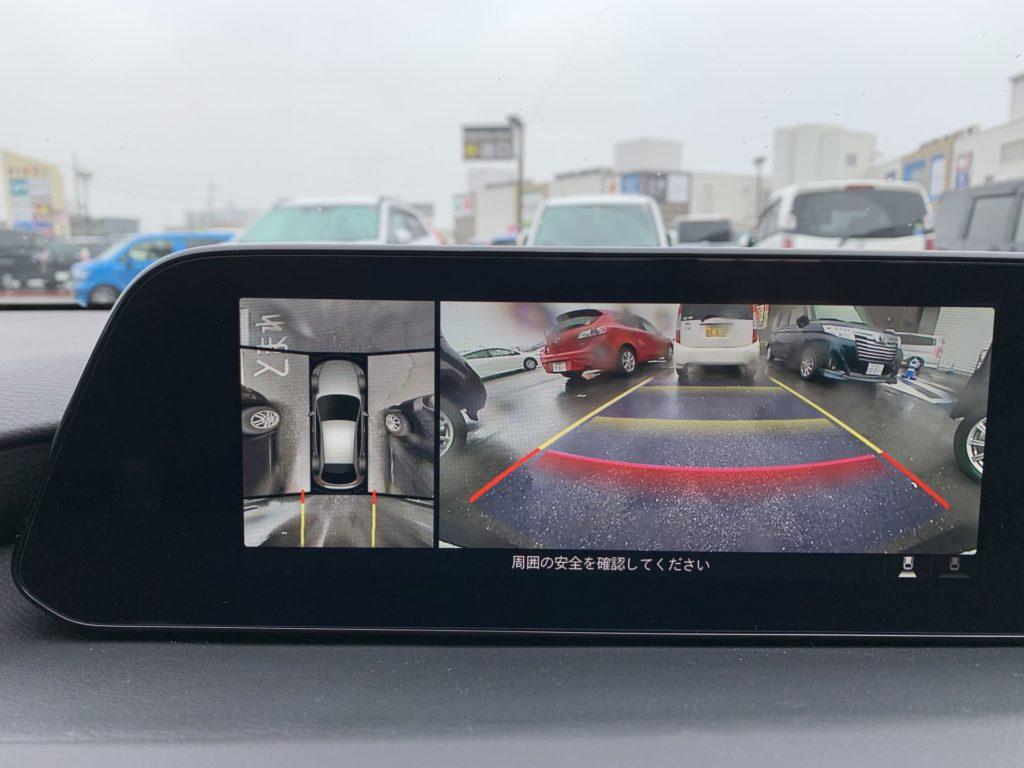 マツダ3 SKYACTIV-G 360°ビューモニター