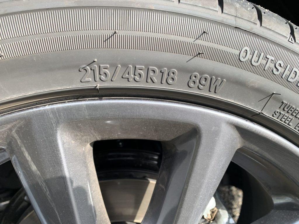 マツダ3 SKYACTIV-G タイヤ