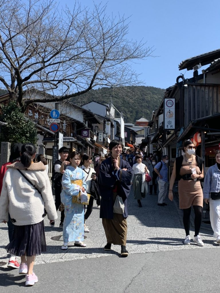 京都 清水 松原通り