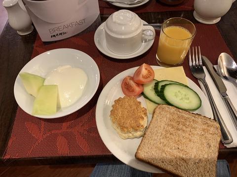 Best Western Burns Hotel Breakfast