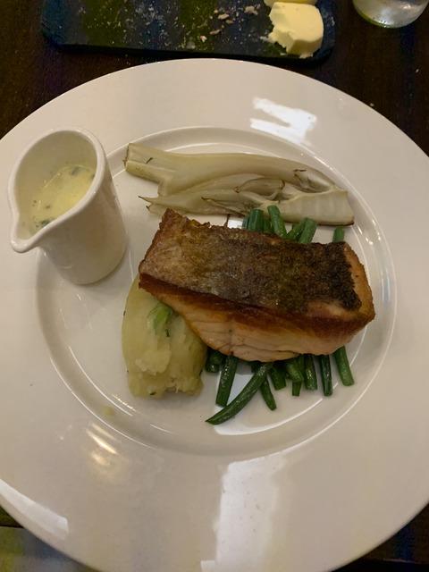 Hilton Glasgow dinner