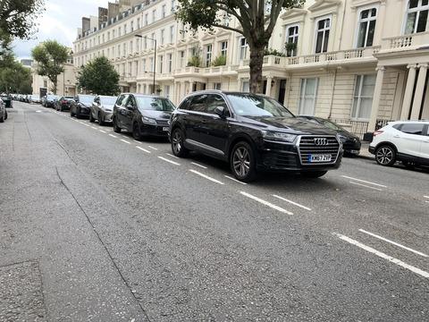 ロンドン 街路