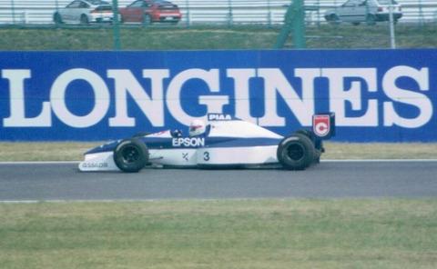 SUZUKA 1990 Nakajima / Tyrrell Ford