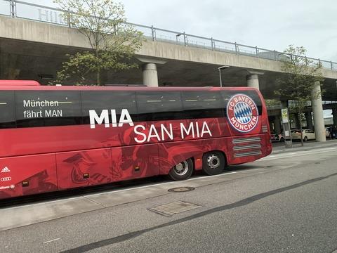 バイエルンミュンヘン バス