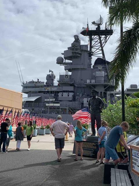 戦艦ミズーリ 入口