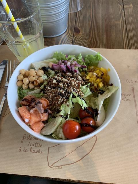 パリ 昼食