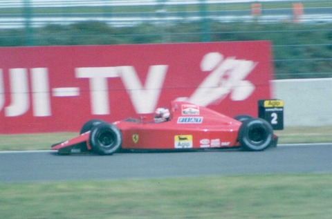 SUZUKA 1990 Mansel l / Ferrari