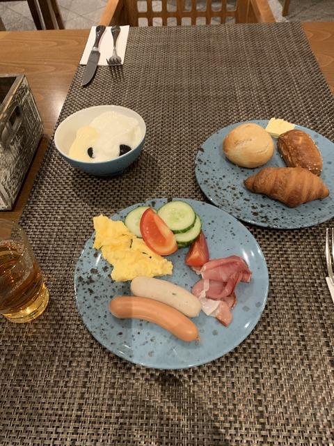 ミュンヘン 朝食