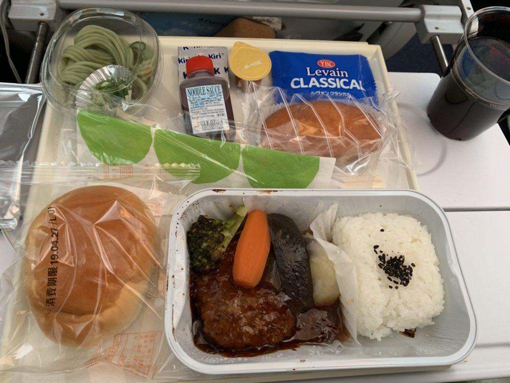 Finnair 食事