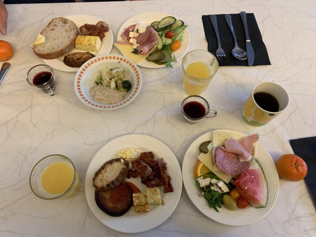 ホテルヘルカ 朝食ビュッフェ