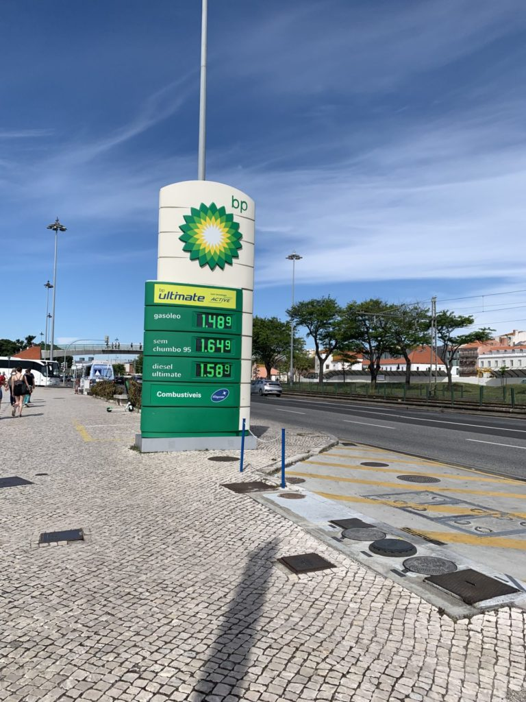Doca do Bom Sucesso 近くのガソリンスタンド