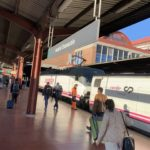 リスボンーマドリード 夜行列車