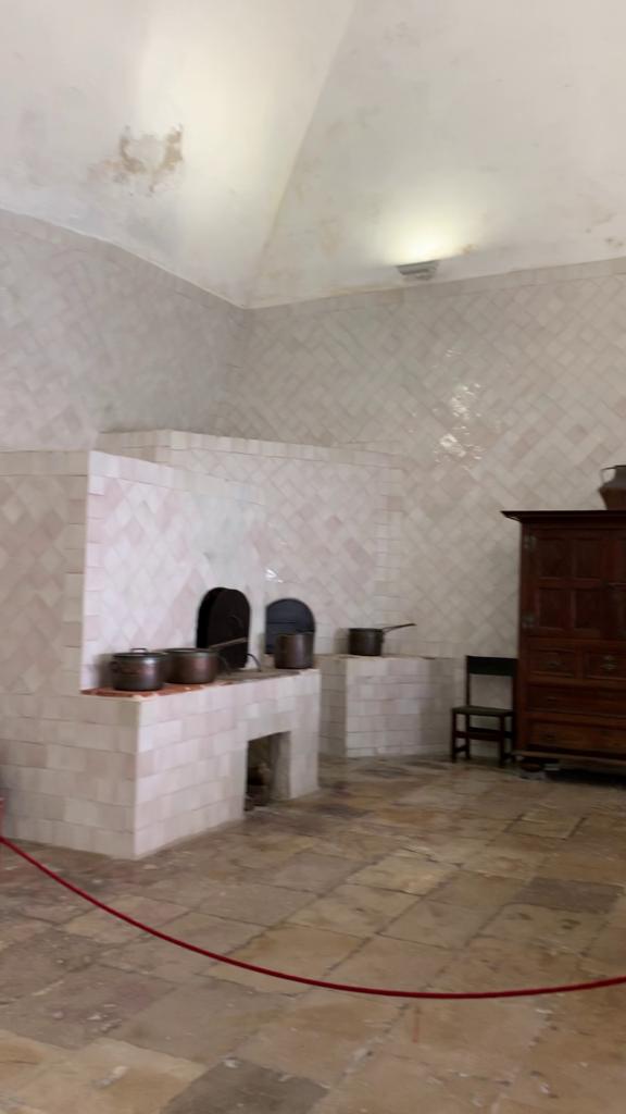 シントラ宮殿 厨房