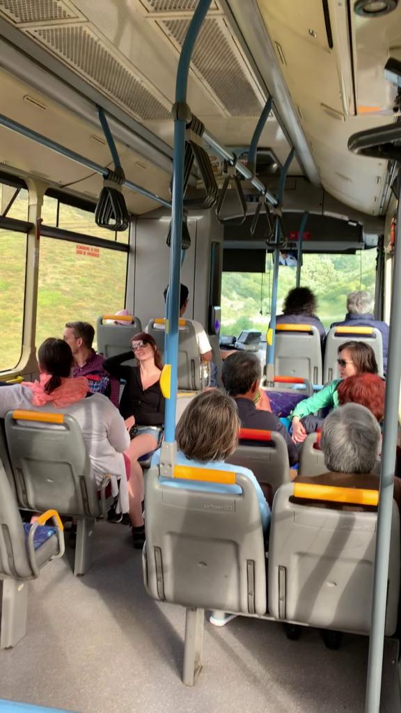 ロカ岬から帰りのバス