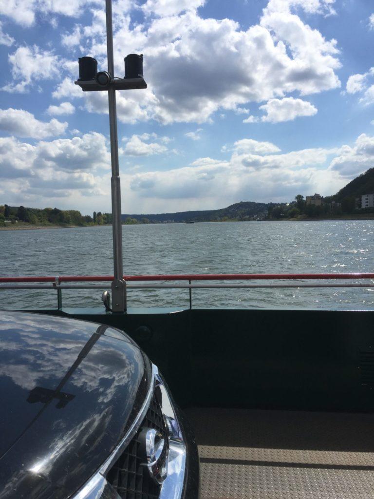 Rolandseck-Bad Honnef ライン渡河フェリー