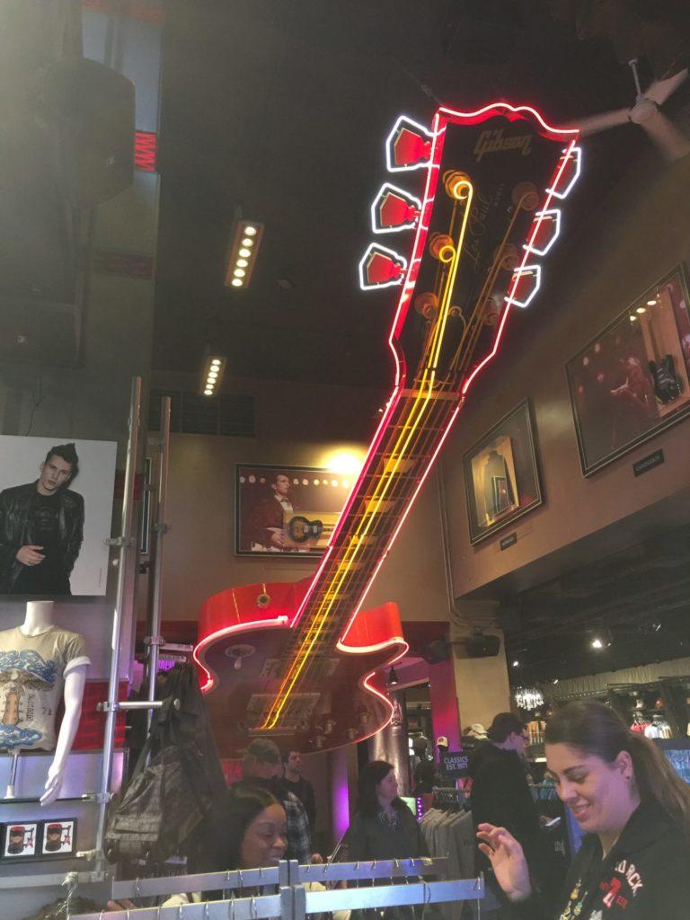 タイムズスクエア ハードロックカフェ