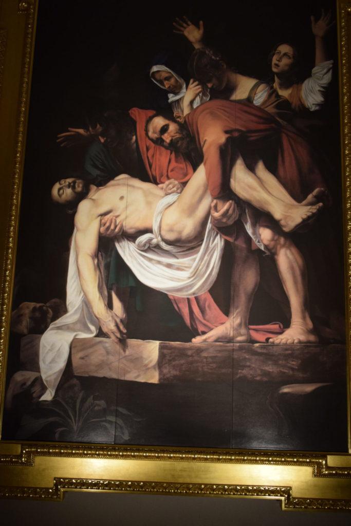 カラバッジョ キリストの埋葬