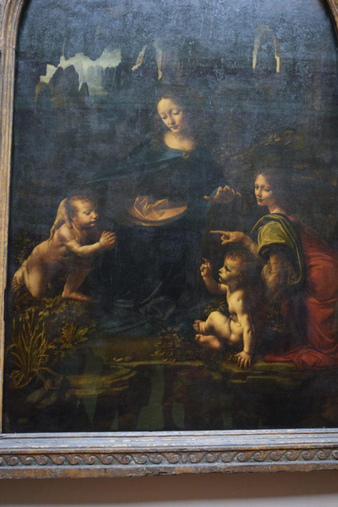 岩窟の聖母 ダヴィンチ