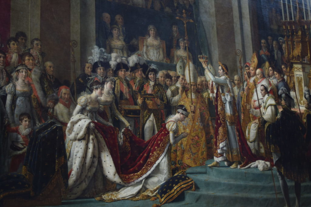ナポレオン一世の戴冠式と皇妃ジョゼフィーヌの戴冠 ダヴィッド